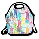 heat cutter bikini - UNERTLY Lunch Boxes Hawaiian Pineapples Lunch Tote Lunch Bags