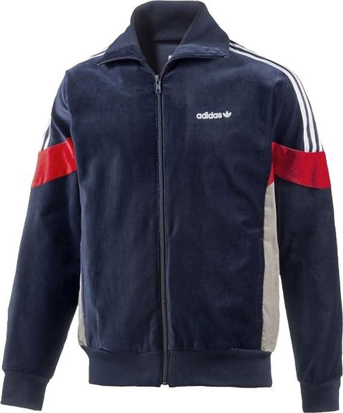 adidas Originals Homme Challenger Jacket OG Peau de Peche Bleu pour Homme
