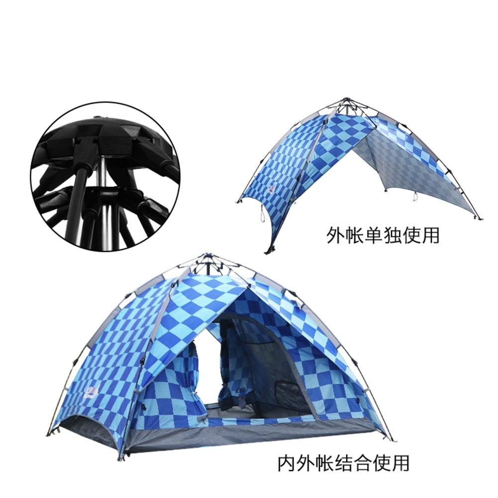 Automatische Außenzelt 3-4 die menschliche Regenschutz für camping Double double Familienurlaub Zelt