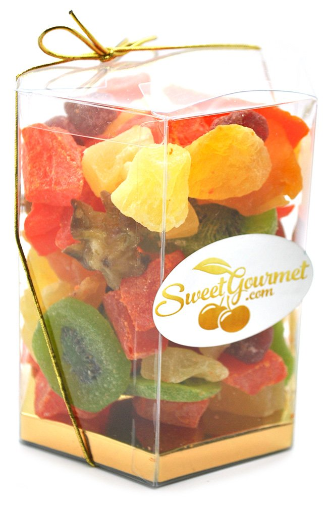 SweetGourmet Tropical Dried Fruit Salad (16oz GIFT BOX) by SweetGourmet (Image #2)