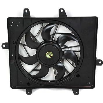 evan-fischer eva24572020436 nueva directa Fit asamblea Ventilador del radiador para PT Cruiser 01 - 05 memoria w/o Turbo sustituye partslink # ch3115118: ...