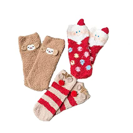 CGN Bebé Navidad Caliente Calcetines Bebé Dibujos Animados Suave Invierno Calcetines Unisex Niño Niños Calcetines Navidad