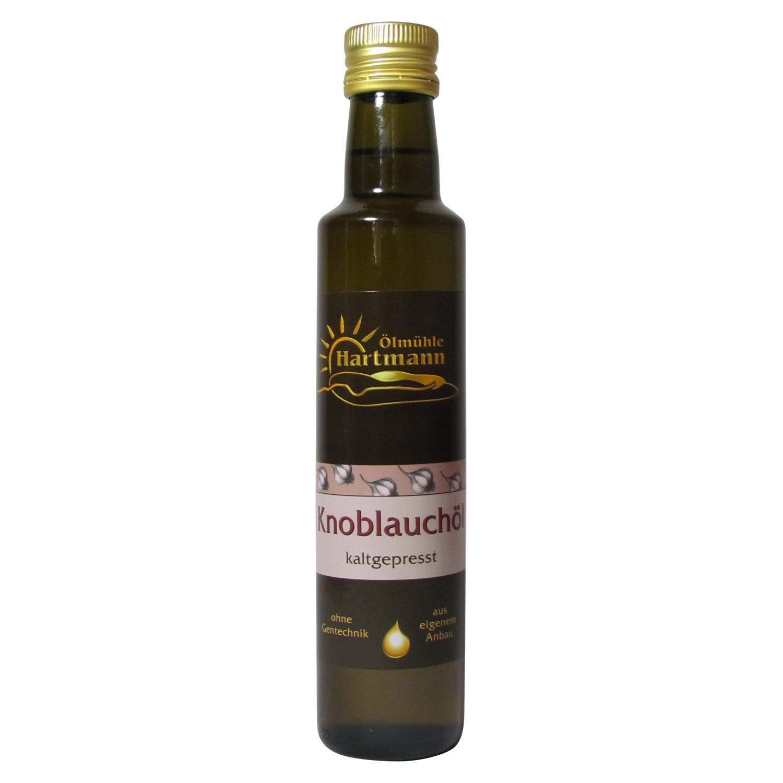 Ölmühle Hartmann GbR, Knoblauchöl, 250 ml: Amazon.de: Lebensmittel ...