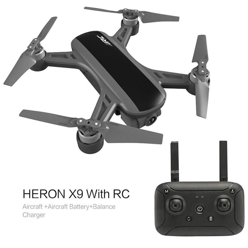 MChoiceJJR/C Heron X9 GPS 5G WiFi FPV RC ドローン エアクラフト 1080P HD カメラ クアッドコプター RTF US サイズ: Quadcopter Size: 14.8 x 14.5 x 6cm カラー: ブラック B07QRP8Y5M