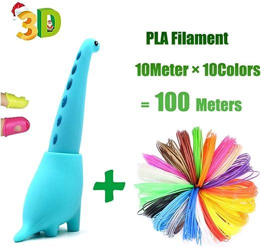 Bolígrafo de impresión 3d para niños, dinosaurio juguetes mini ...