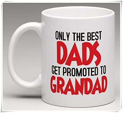 34d28f49ad9 Amazon.com: OttoRiven101 - Only the Best Dads get Promoted to ...