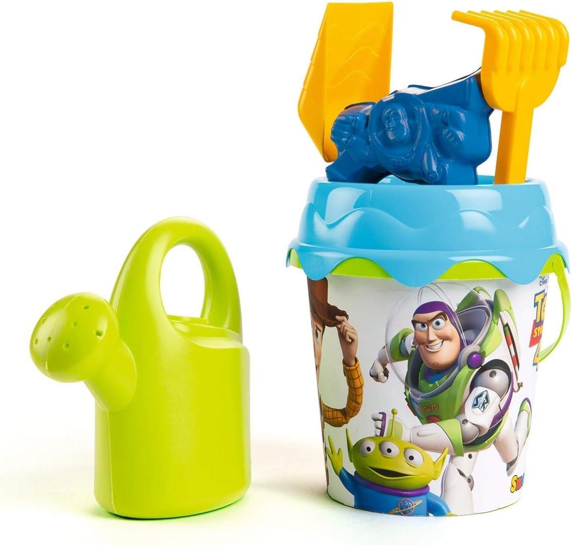 Smoby Toy Story 4 Cubo de Playa con Accesorios, Multicolor (862096)