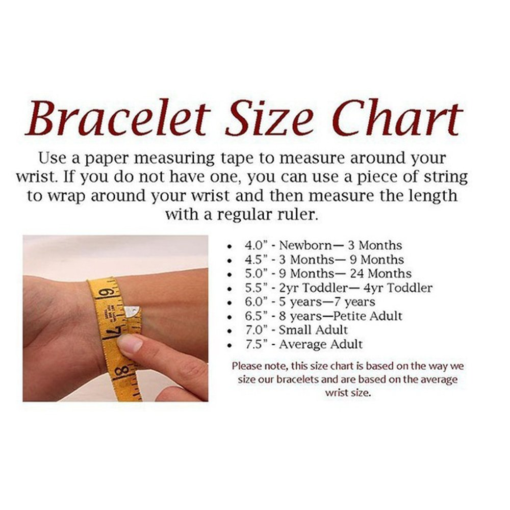 Custom Gold Azabache Bracelet For Kids With Red Hand Protection Id Bracelet For Baby Gold