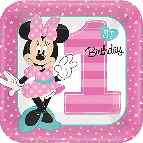 (1st Birthday Minnie Mouse 9