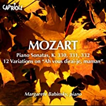 Mozart, W.A.: Piano Sonatas Nos. 10-12 / 12 Variations On Ah Vous Dirai-Je, Maman