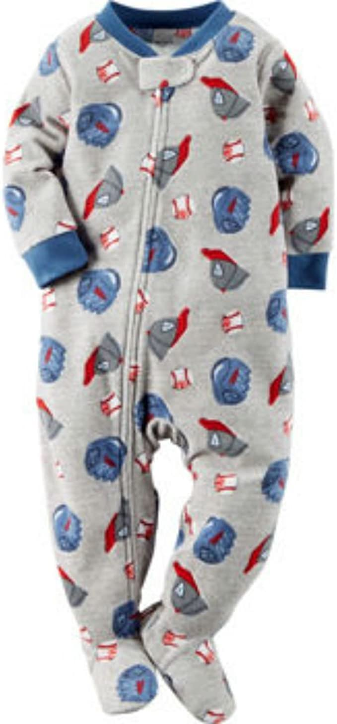 Amazon.com: Carter's Boys' Blanket Sleeper (18M, Baseball): Clothing