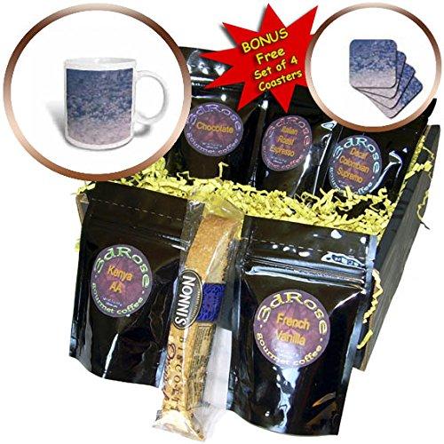 3dRose TDSwhite – Winter Seasonal Nature Photos - Window Snowflakes - Coffee Gift Baskets - Coffee Gift Basket (cgb_284946_1)