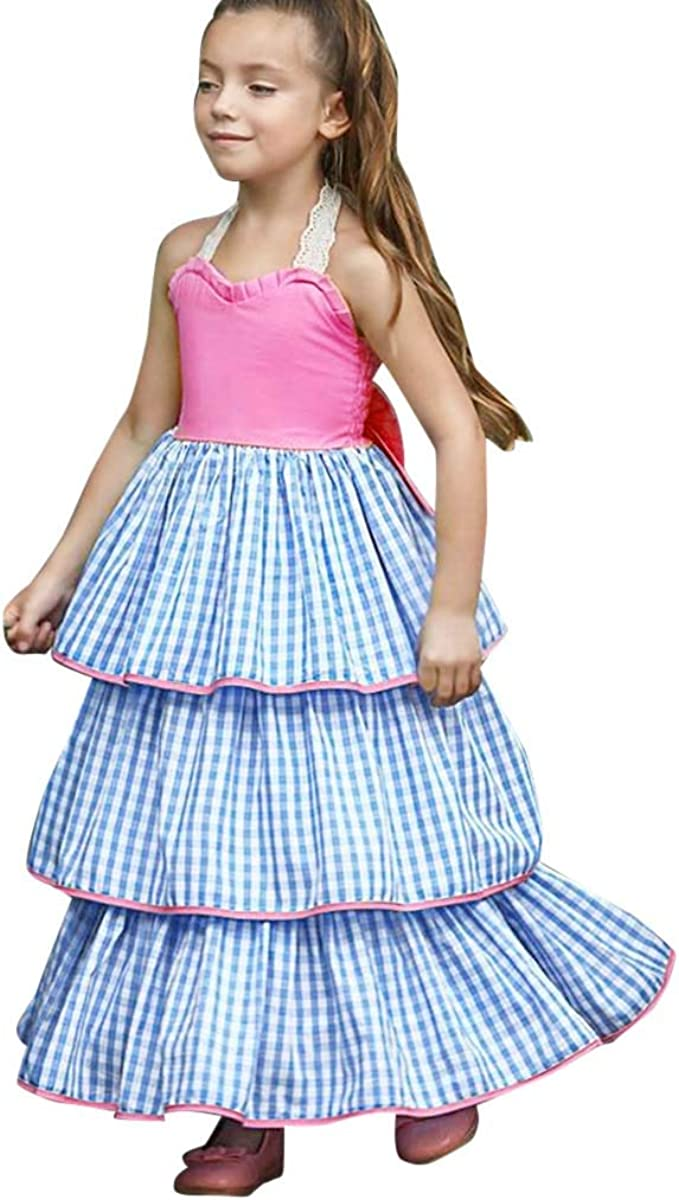 ASHOP Vestidos niña Verano 8 años Faldas Cortas Vestido de ...