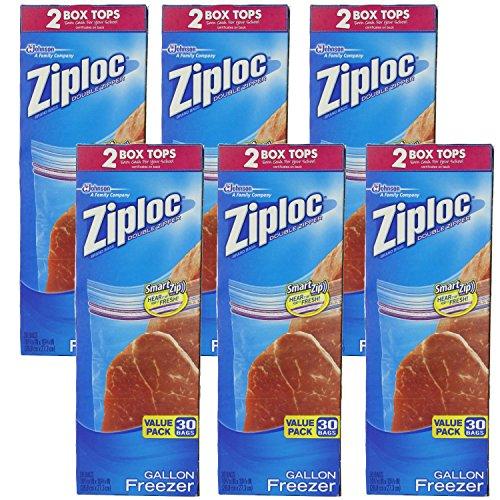 Ziploc Freezer Gallon Value 30 Count product image