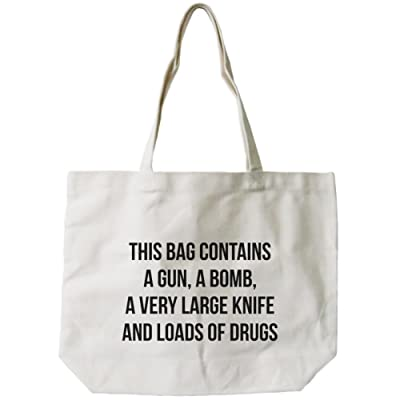hot sale 2017 365 Printing Must Resist Natural Canvas Bag Tote Bags Funny Gifts For Shopaholic