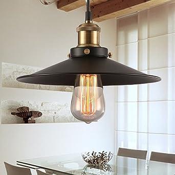 Design Luminaire Suspension Vintage Edison Loft Style, Makion Moderne IKEA  Lampe Pendante \u0026 Lampe Plafonnier