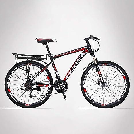 HECHEN Bicicleta-24 Freno de Disco de Velocidad Bicicleta de ...