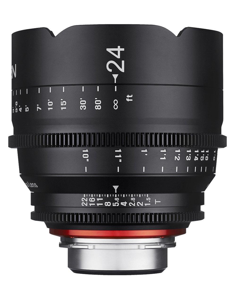 XEEN シネマレンズ (Nikon Fマウント, 24mmT1.5)   B01G5724QE