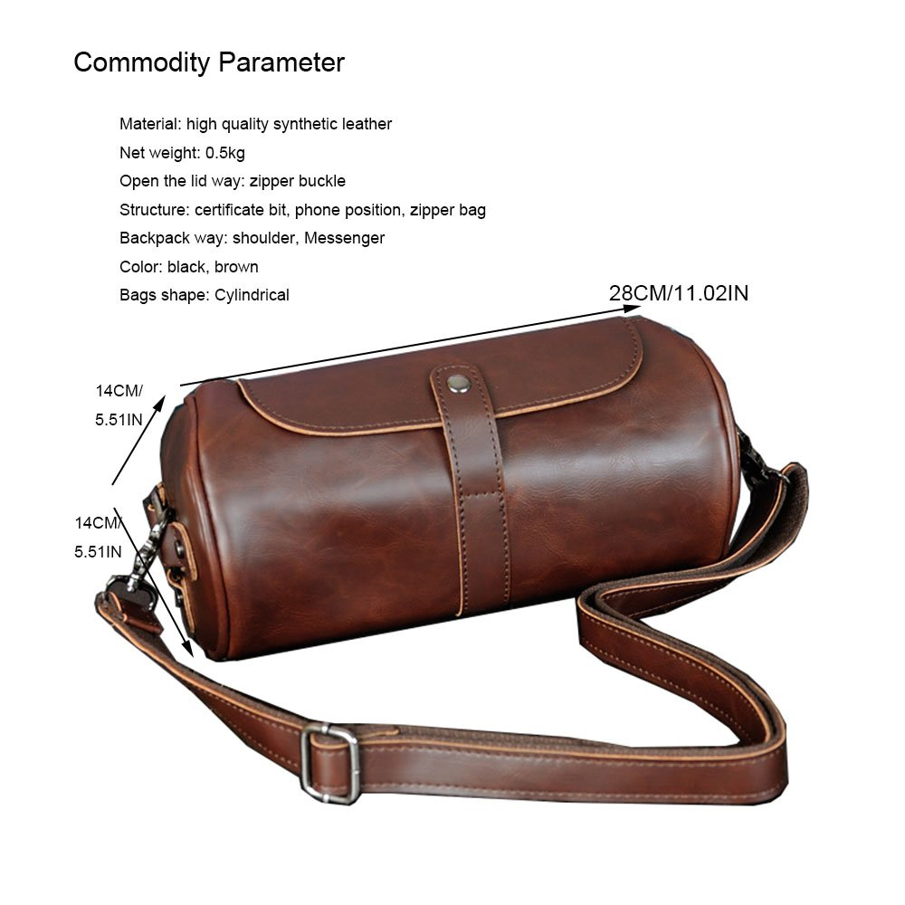 Beatsport Retro Shoulder Bag Small Messenger Bags Men Personalized Drum Bag   Amazon.co.uk  Clothing 8d4d50665bb80