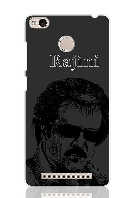 the best attitude fbfad 7b397 AMAN Rajini 3D Back Cover for Xiaomi Redmi 3S Prime: Amazon.in ...
