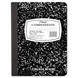12 Pack Wireless Composition Book, College Rule, 9-3/4 x 7-1/2, White, 100 Sheets by MEAD (Catalog Category: Paper, Envelopes & Mailers / Notebooks) by Mead