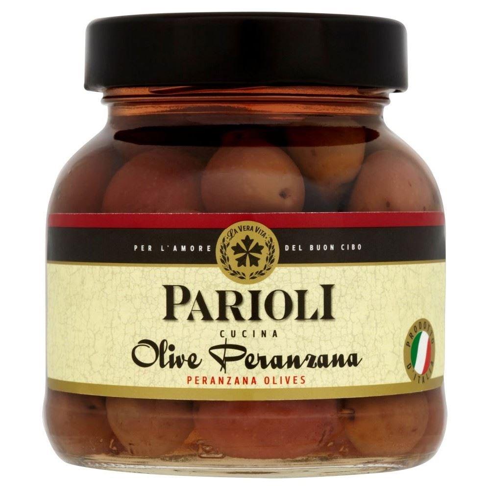 Parioli Peranzane Olives (300g) - Pack of 2