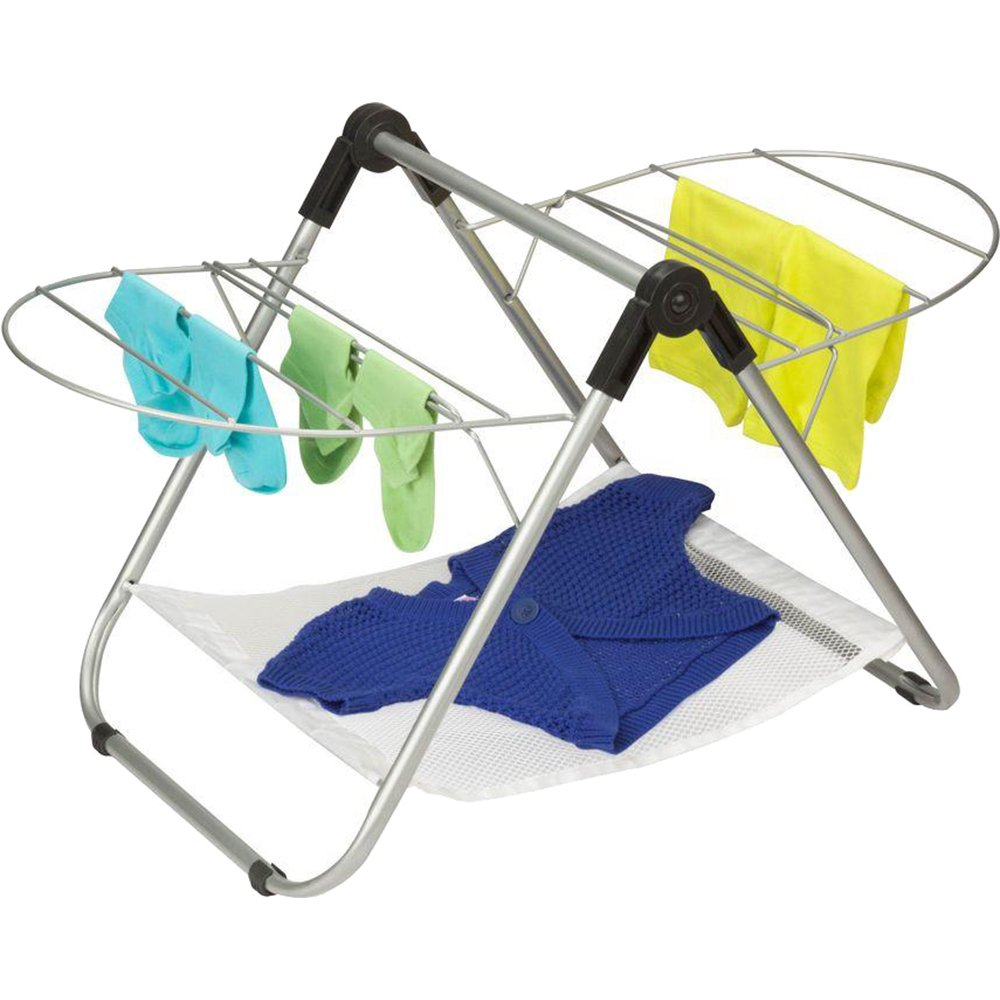 Honey-Can-Do DRY-03623 Tabletop Gullwing Drying Rack, 16.9W x 29H