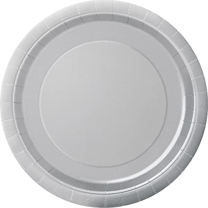 Silver Paper Cake Plates 20ct  sc 1 st  Amazon.com & Amazon.com: Silver Paper Cake Plates 20ct: Kitchen u0026 Dining