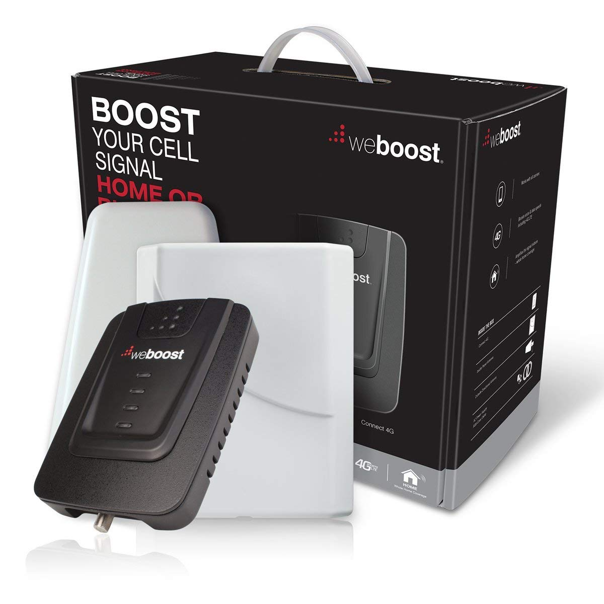 weBoost Connect 4G 470103R Indoor Cell Phone Signal Booster for Home and Office - Supports 5,000 Square Foot Area (Renewed) by weBoost