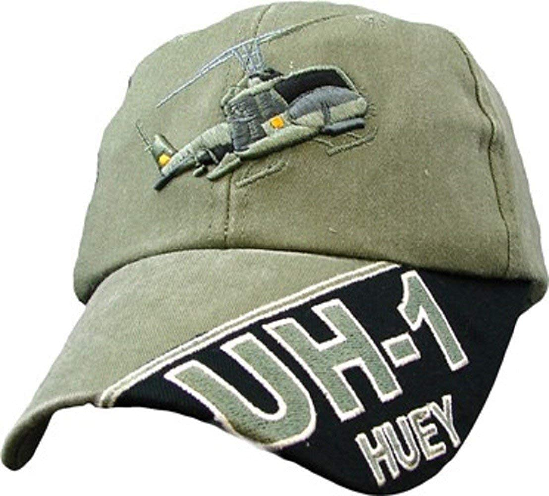 OD Green Baseball Cap UH-60 Blackhawk Hat