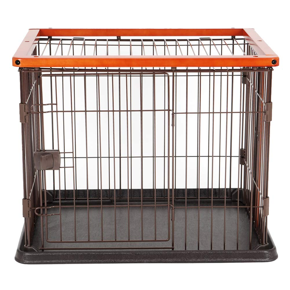 715660cm XCLLL Solid Wood Pet Cage Cat Dog Cage Suitable For Indoor Small Medium Dog Dog Cat Universal Portable Detachable,71  56  60cm