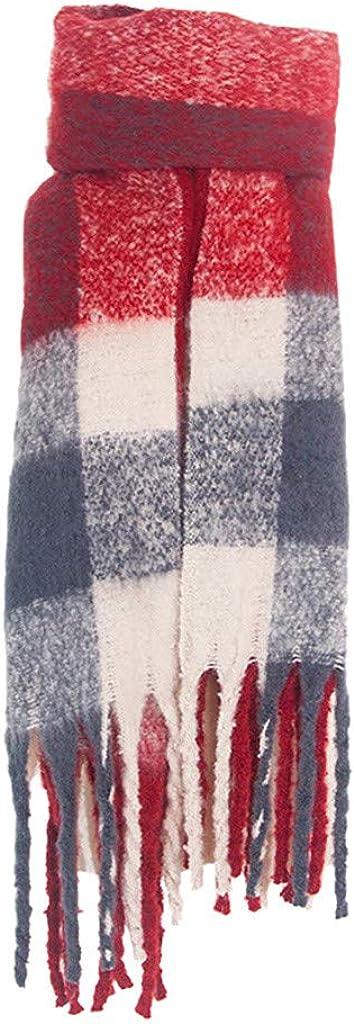 JJHAEVDY Long Plaid Blanket...