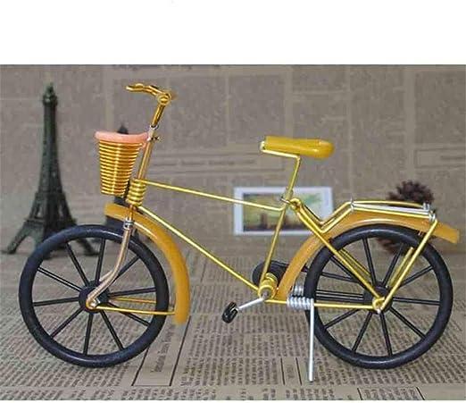 Manualidades Antiguas De Metal Modelo De Bicicleta Vintage Modelo ...
