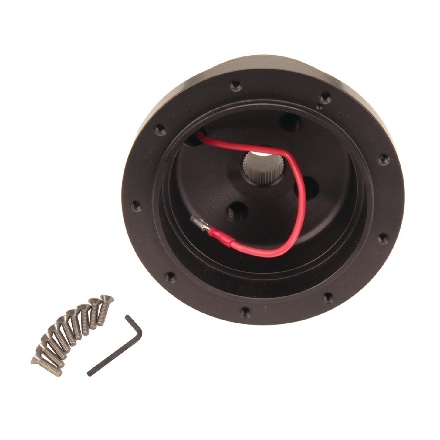 Black Anodized GT Performance 20-6505 Steering Wheel Install Hub for Ford