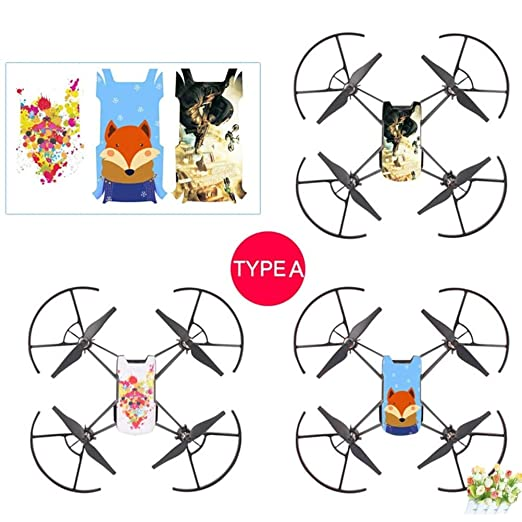 Drone Boxes - 3pcs Set Sticker Cool Waterproof Pvc Stickers Body ...