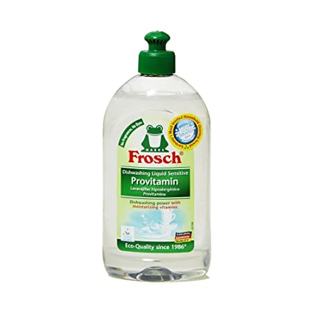 Frosch Natural Unscented sensible provitamina líquido mano plato ...