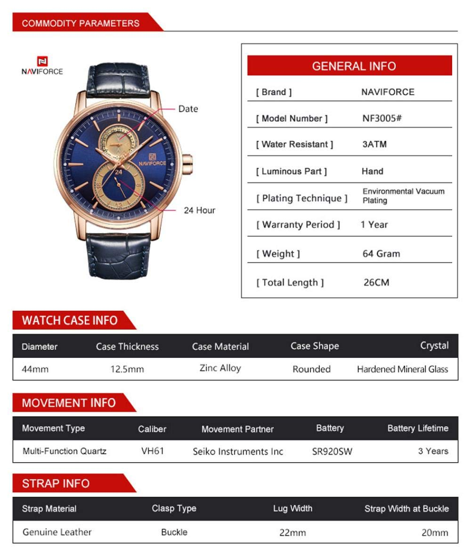 Armbandsur, mode kreativ sport vattentät affärsklocka Gold Shell