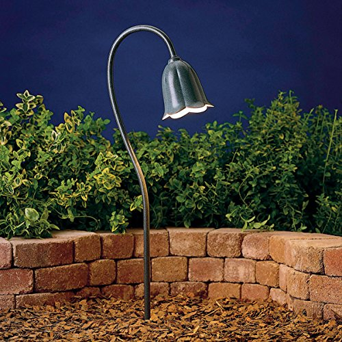 lip Low Voltage Post Landscape Path Lighting Xenon, Midnight Spruce ()