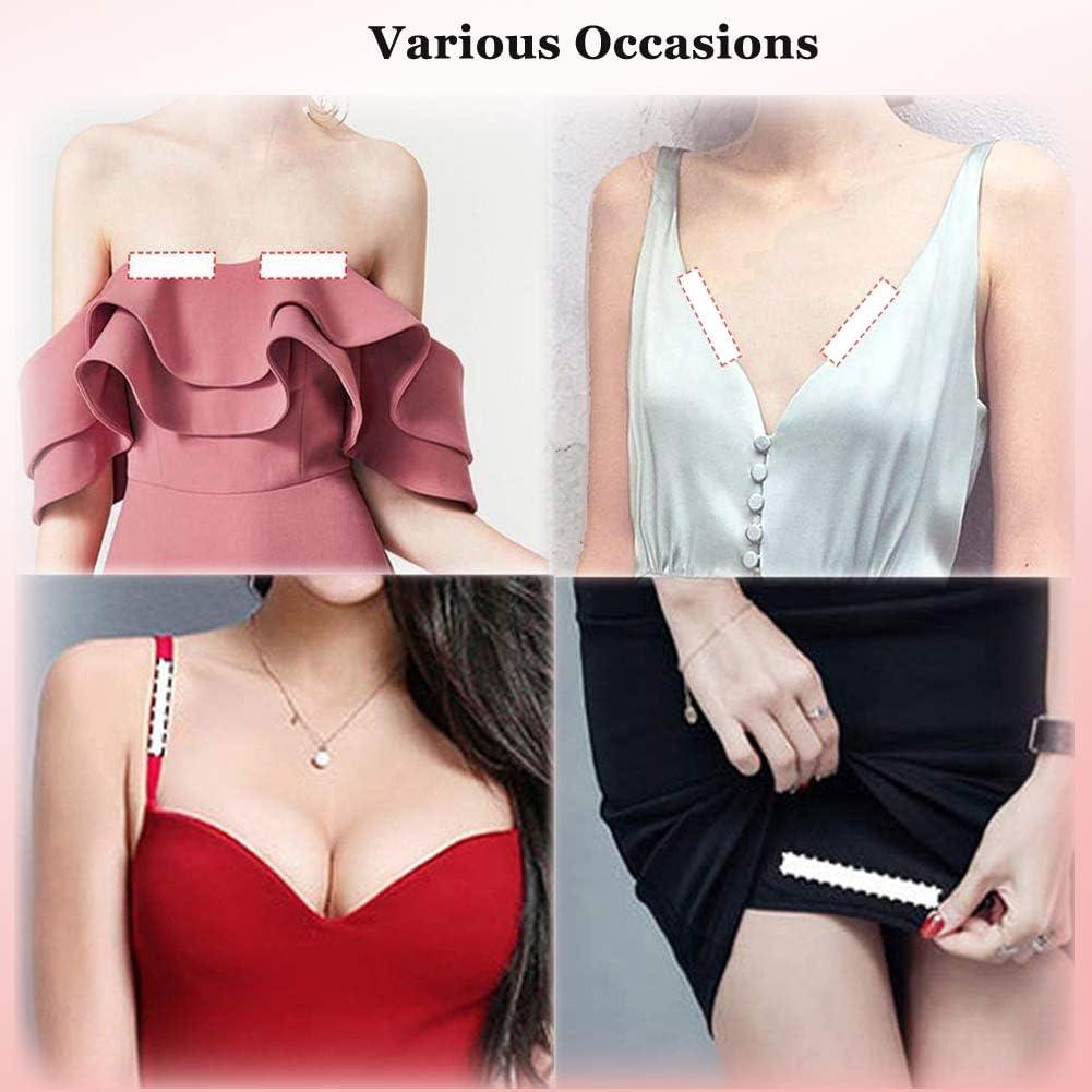 orli e altro pelle SUREMATE Strisce di nastro biadesivo per lingerie reggiseno tieni i tuoi vestiti allacciati