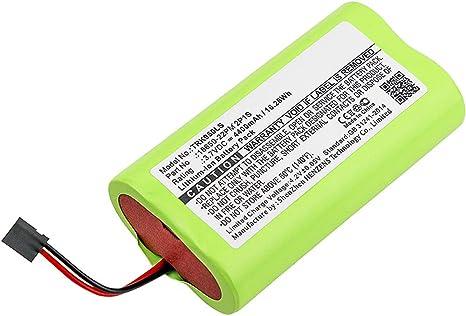subtel® Batería Premium Compatible con TRELOCK LS 950-18650-22PM ...