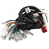 wiring diagram for harley davidson golf cart amazon.com: ultima complete wiring harness kit for harley ...