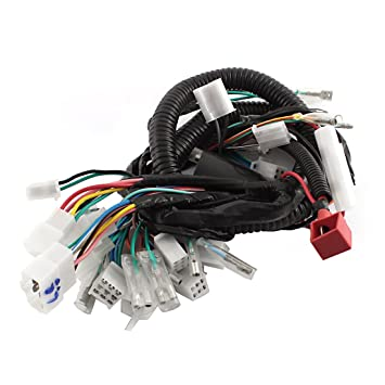 Amazon.com: Ultima Complete Electrical Main Wiring Harness ... on custom motorcycle wiring harness, universal motorcycle wiring harness, triumph motorcycle wiring harness, honda motorcycle wiring harness,