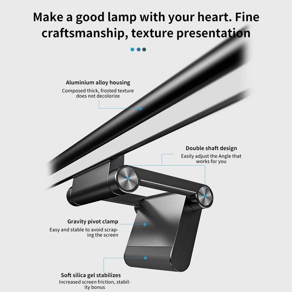 Schermo per Oscuramento Lampada A Sospensione per Lettura Lampada 3 modalit/à Lampada A Sospensione per Monitor Lampada per Protezione degli Occhi USB Deeabo Lampada per Monitor per Computer