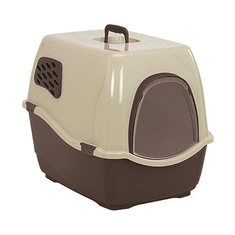 Bandeja para inodoro NGT, con tapa y filtro para gatos