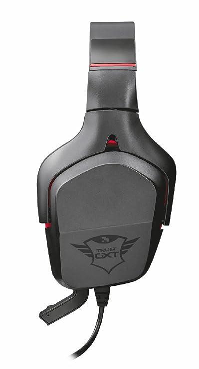 Trust Gaming GXT 344 Creon - Auriculares Gaming para PC, PS4 y Xbox con micrófono Ajustable y Sonido estéreo, Color Negro: Amazon.es: Electrónica