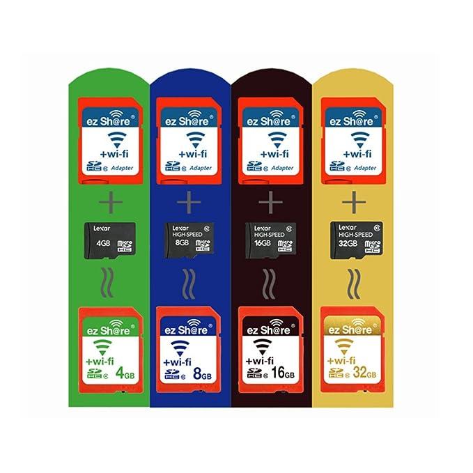EZ compartir Wifi tarjeta SD adaptador para DC/DV/cámara réflex ...