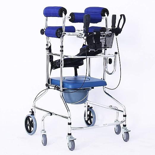 Pebegain Andador médico Plegable, Equipo de rehabilitación ...