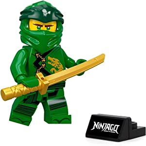 LEGO NinjaGo Legacy Minifigure - Lloyd (with Gold Sword and Display Stand) 70670
