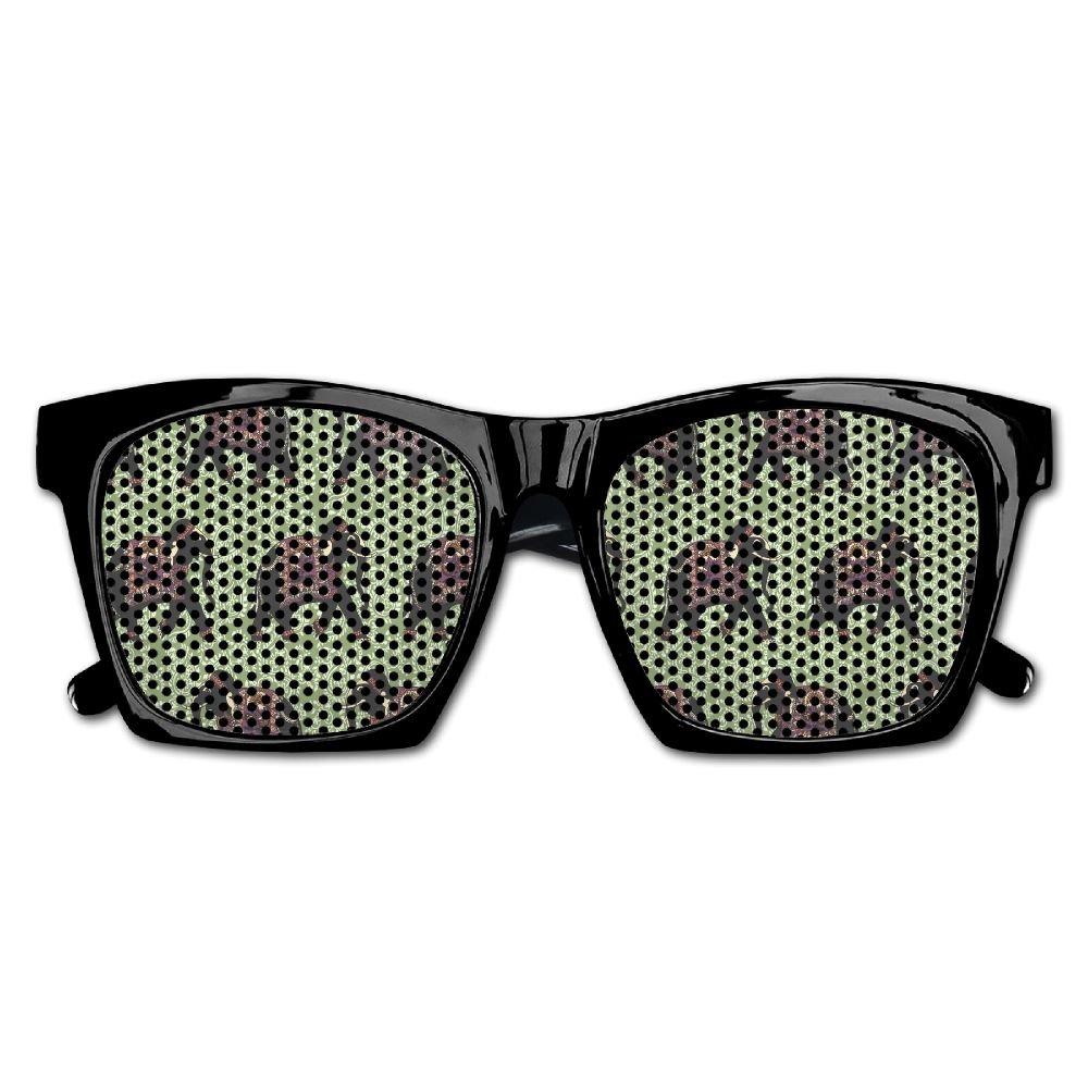 Elephant AN Themed Novelty India Elephants Fashionable Visual Mesh Sunglasses Fun Props Party Favors Gift Unisex