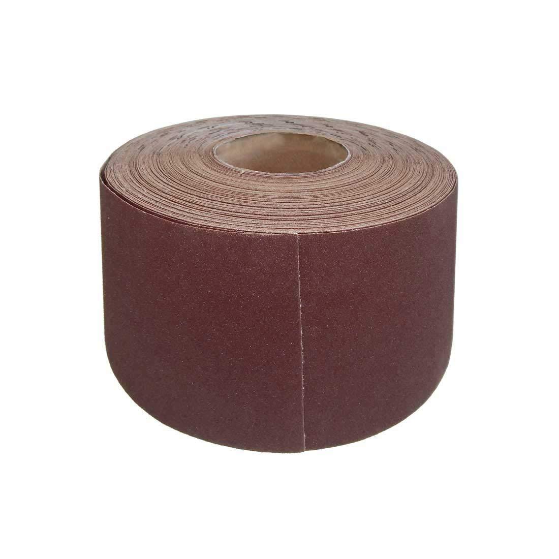 1 Rouleaux de papier de verre MioTools pour ponceuses manuelles - 115 mm x 50 m - grain 80